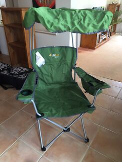 mammoth camp chair deluxe camping hiking gumtree australia