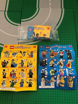 LEGO COLLECTABLE MINIFIGURE SERIES 1 & 2 PAMPHLET BOOKLET YOU PICK FROM LIST CMF