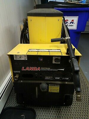 Landa Vhw 2-1100 Commercial Heated Hot Water Pressure Washer
