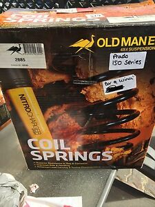 Old man emu Toyota prado 150 series coil springs Noraville Wyong Area Preview