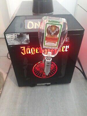 Jagermeister Tap Machine Model J99. Three Bottle Shot Dispenser Chiller.