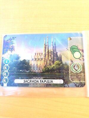 7 Wonders Duel - Sagrada Familia Promo Card