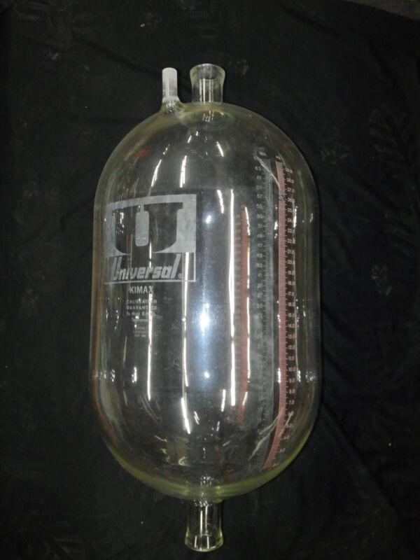 Universal 65lb milk weigh jar, used, refurbished