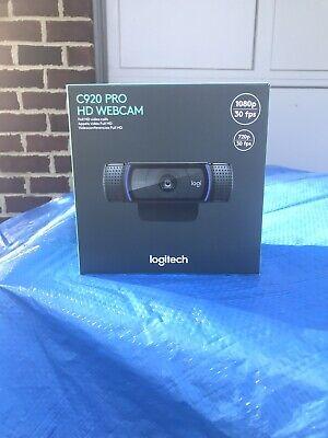 Logitech C920 Pro HD 1080p Webcam BRAND NEW FREE FAST SHIPPING