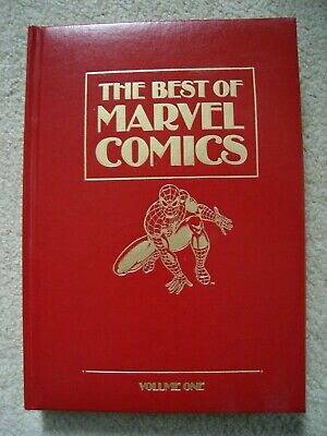 The Best of Marvel Comics Vol 1 Unpublished X-Men Story Leatherbound