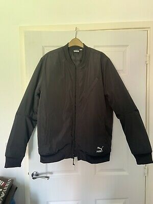 Mens Puma Bomber Jacket Large