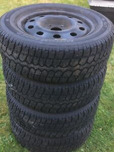 225-65-17 Winter Tire and Rims