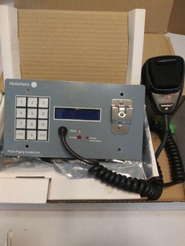 Peavey MediaMatrix PCU4 Paging Control Unit with Microphone