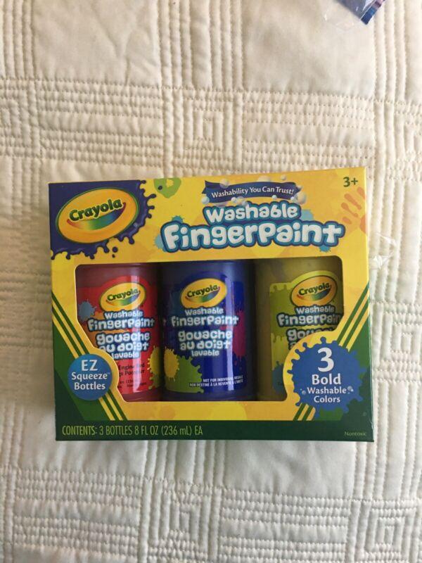 Crayola Washable Finger Paints