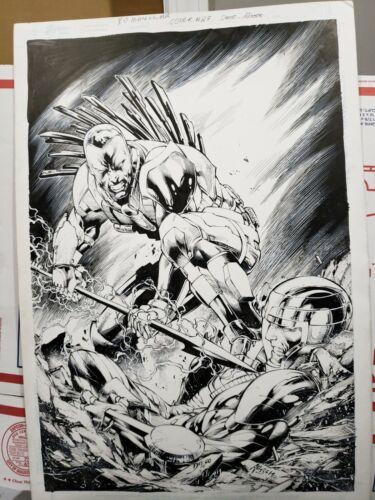XO MANOWAR # 27 VARIANT  VARIANT ORIGINAL COVER ART ! (7/2014)