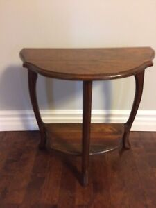 Solid Wood Accent Table SOLD PPU