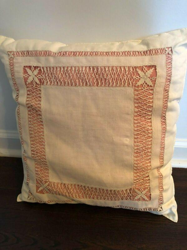 "Antique Victorian Pillow 16"" x 18"""