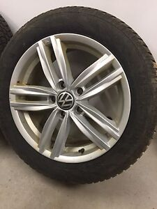 VW Jetta MK6 winter tires and rims