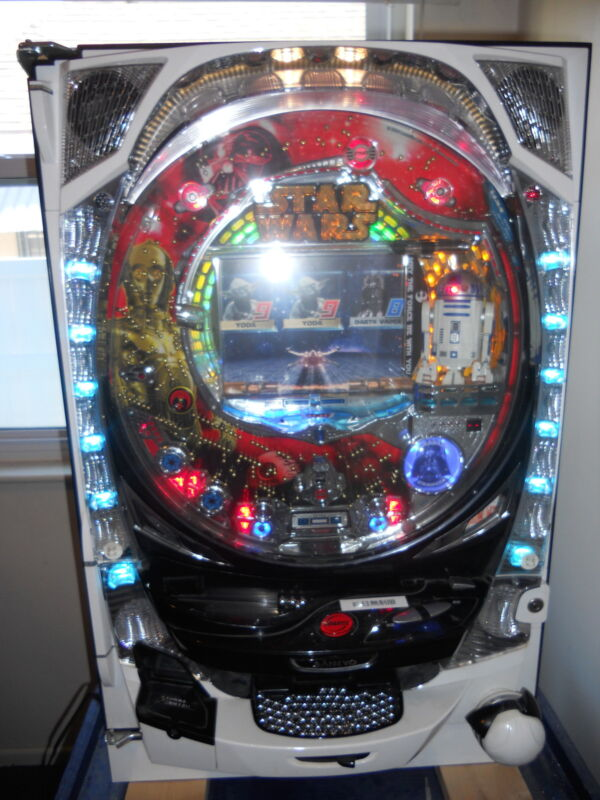 Star Wars Pachinko Machine 2006 Sankyo R2D2  Japanese Slot Arcade Game