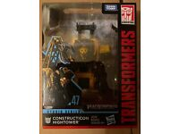 Transformers Studio Series #47 Deluxe CLASSE Constructicon Hightower