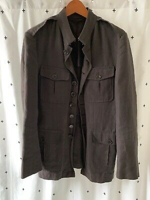 GUCCI Italy MENS MILITARY JACKET Size 50 Authentic RARE! for sale  Shipping to India
