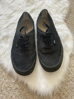 Size 10 Vans Black