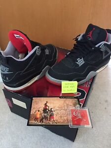AVAILABLE Nike Air Jordan 4 Bred 1999  (read the ad please)