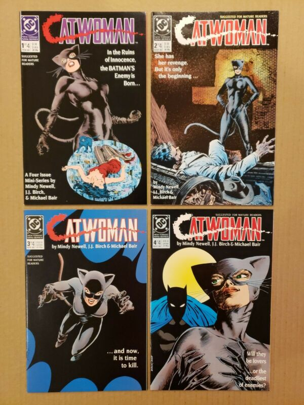 Catwoman #1-4 Lot of 4 complete series DC 1989 Beautiful NM+