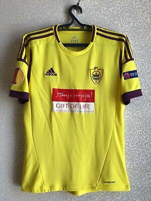 FC Anzhi Makhachkala UEFA Europa League match worn shirt image