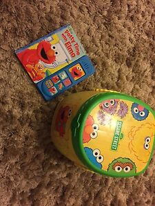 Elmo potty and potty book