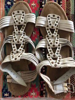 Wanted: Leather gladiator sandals