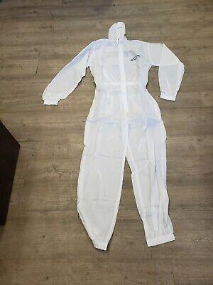 Washable Protective Suit Paintsuit Size Lg