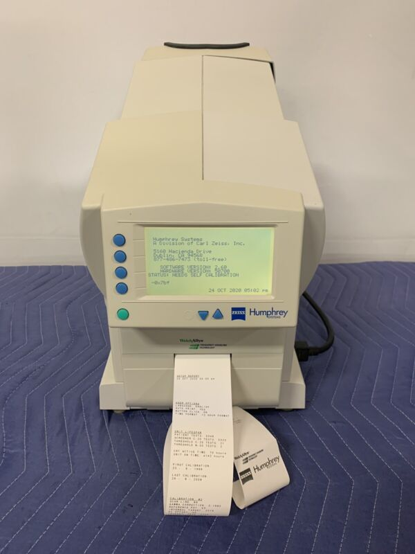 Welch Allyn Zeiss Humphrey Systems 710 Series Visual Field Analyzer