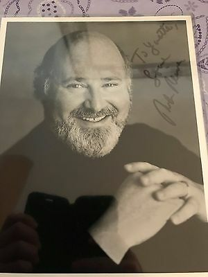 "ROB REINER, Famous ""ALL IN THE FAMILY"" Actor Autographed Photo"