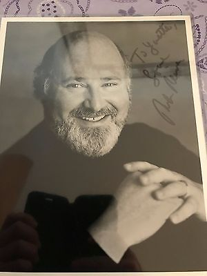 """ROB REINER, Famous """"ALL IN THE FAMILY"""" Actor Autographed Photo"""
