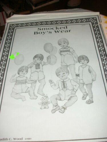 Vintage Judith C. Wood  Baby Boys