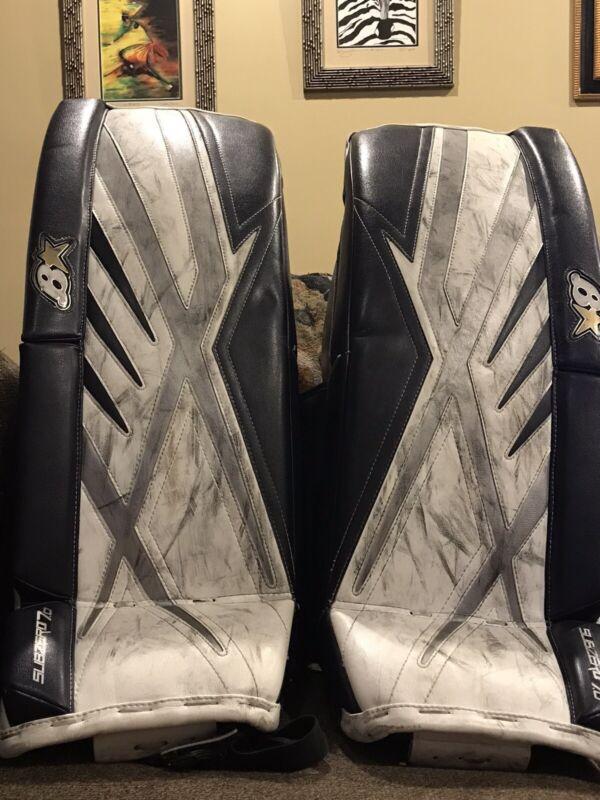 Brians Ice Hockey goalie pads Subzero 7 29+1 Used Good Shape.