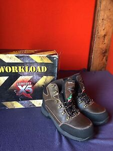 """Workload"" Safety Boots. Size: 11wide"