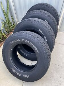 All Terrain 265/70R17 Tyres x 4 (Dick Cepek - Trail Country)