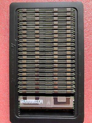 Samsung M386B4G70DM0-CMA 32GB 4Rx4 PC3-14900L DDR3 14900 LRdimm Load Reduced