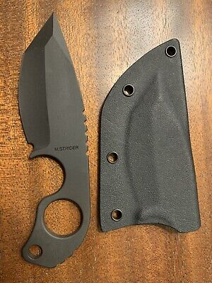 Strider Knives SLCC DUB Mick Strider Monkey Edge Black CPM-3V With Sheath