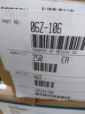 Eaton Weatherguard 06z-106 Hose Crimp Fitting-250ct