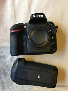 Nikon D800 body + Genuine Nikon Battery Grip Castle Hill The Hills District Preview