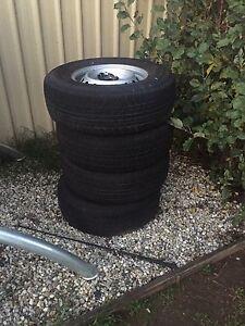 Ford ranger tires Wodonga Wodonga Area Preview