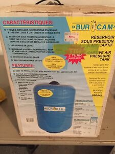 5 Gallon pressure tank for water system