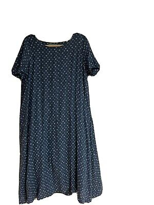 Casey Casey France Often Sold At Egg Trading - Lined Cotton Dress