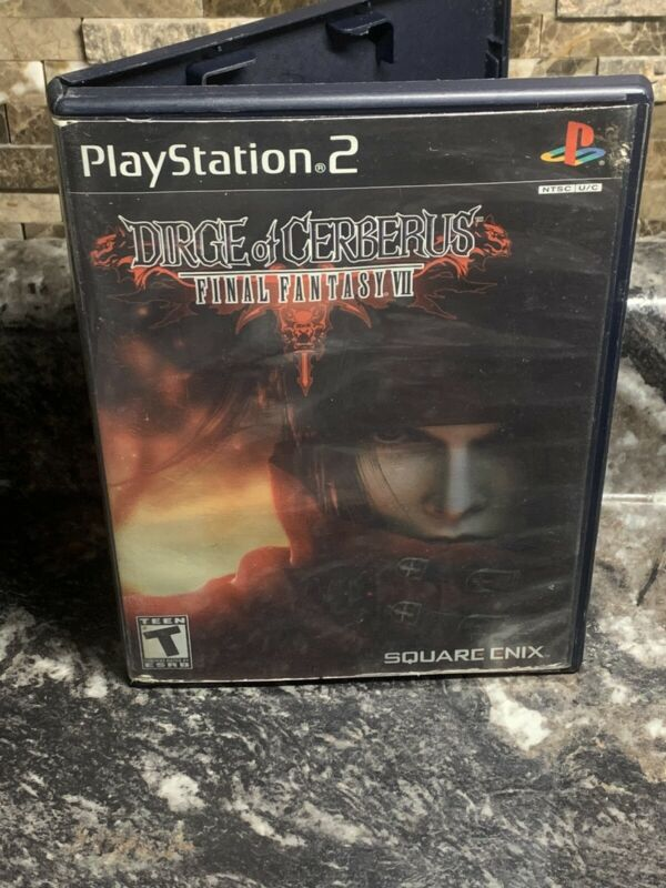 Dirge of Cerberus Final Fantasy VII FF7 Sony PlayStation 2 PS2 Tested & Complete