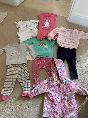 Baby Girl Clothes Bundle Size 9-12 Months