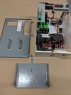 Square D Model 6 60 Amp Size 2 Reversing Motor Starter Bucket Fusible Fused Mccb