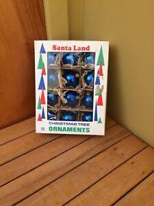 Boules de Noël antiques, vintage