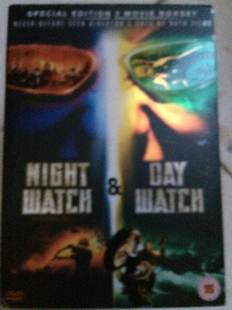 NIGHT WATCH / DAY watch ~ Russian Vampire Werewolf Horror Double Bill UK DVD
