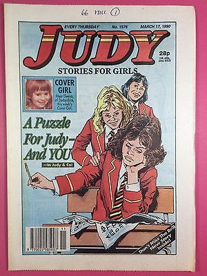 JUDY - Stories For Girls - No.1575 - March 17, 1990 - Comic Style Magazine