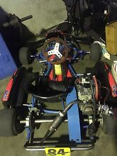Azzurro GoKart worked 200cc Honda rep engine Yatala Gold Coast North Preview