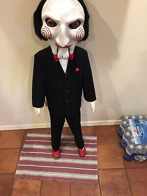 Saw Puppet Jigsaw Annabelle Doll Chucky Life Size Statue Halloween Prop 1:1 - Saw Doll