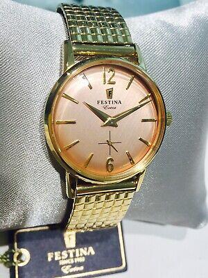 Festina since 1902 orologio donna modello Extra Collection laminato oro,